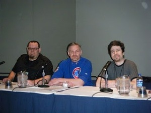 JJM with Paul Kemp and Erich Schoenweiss at C2E2