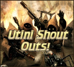 Utini-Shout-Outs