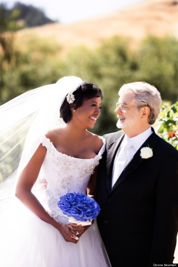 George Lucas and Melody Hobson Wed | Roqoo Depot