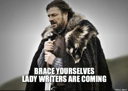 Lady writers
