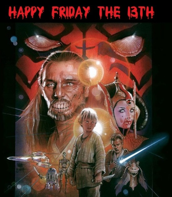 Star Wars friday the 13th