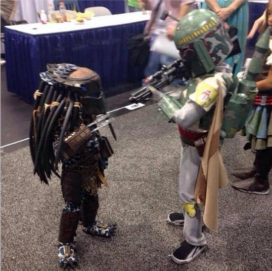 kids-cosplay-predator-vs-boba-fett