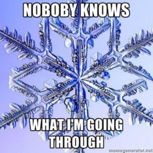 speshul snowflake