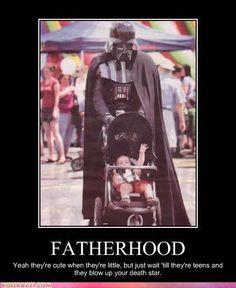 Vader fatherhood