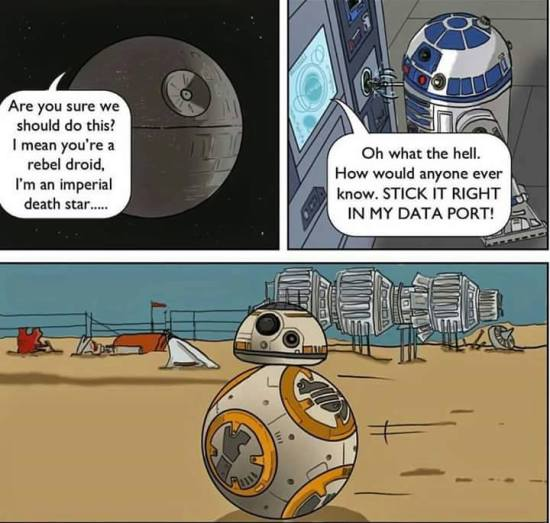 Where BB8 came from